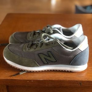 New Balance 501 Sneaker- Olive Green